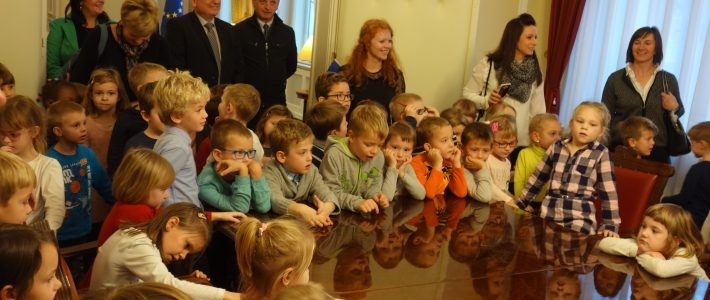 Obisk v predsedniški palači
